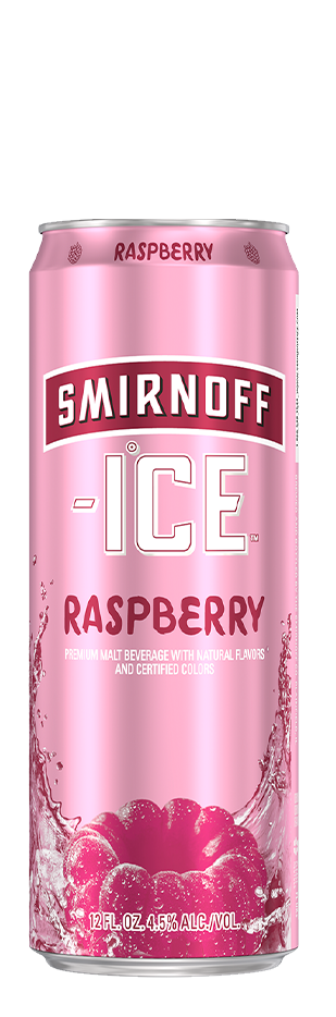 SMIRNOFF ICE RASPBERRY CAN