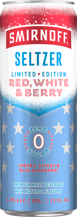 Smirnoff Red, White & Blue Seltzer