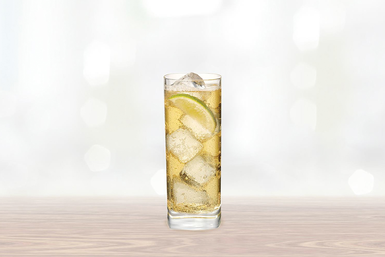 Whipped Ginger Ale